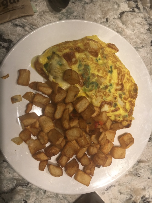 Lump Crab omelet